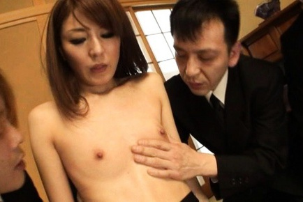Rika Tamura gets some deep cock penetration in her wet pussy