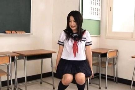 Horny babe Megumi Haruka rides a really hard cock