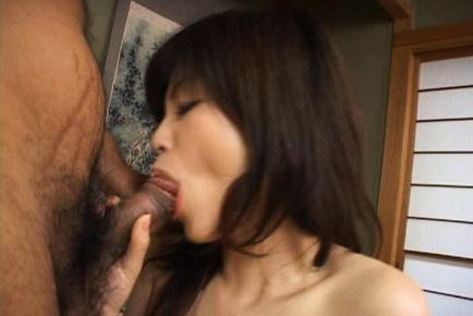 Kurumi katase has hairy ass aroused and fucked with vibrat 8