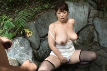 Tokyo milf yuu hinouchi fingered and fucked