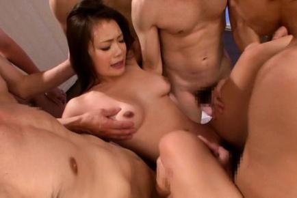 Hot with big tits Kana Tsuruta gets nailed hard