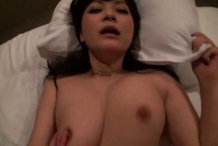 Busty Satou Haruka shares a cock in wild Asian orgy